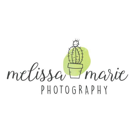 Watercolor Logo Photography Watermark Unique
