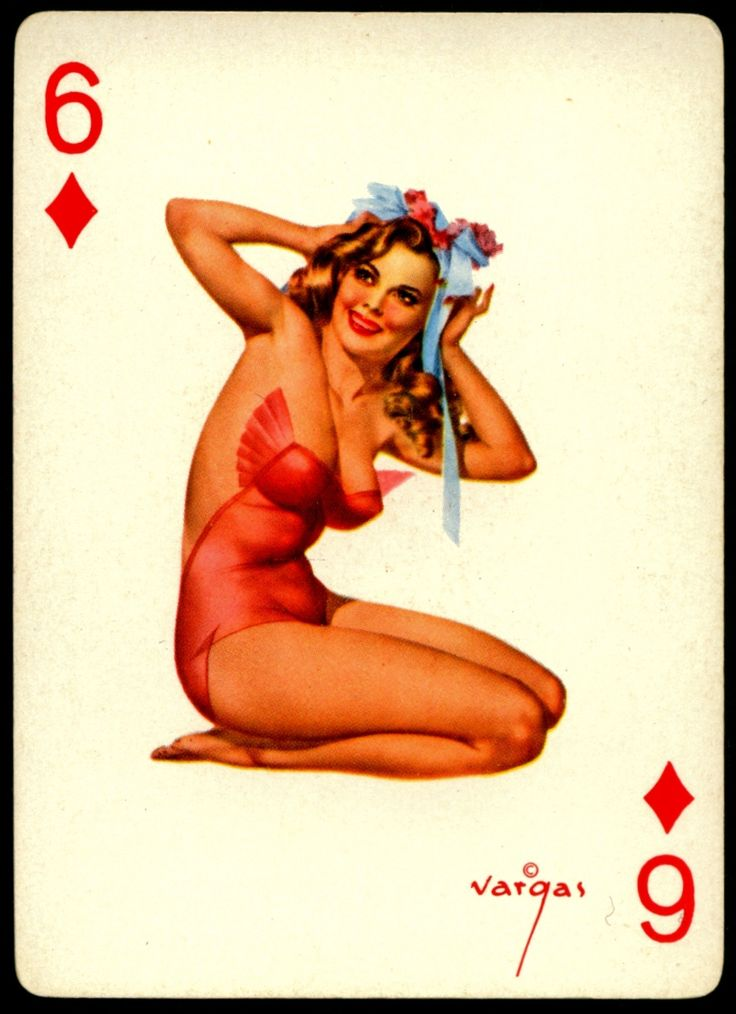 Habit the Girl playing card