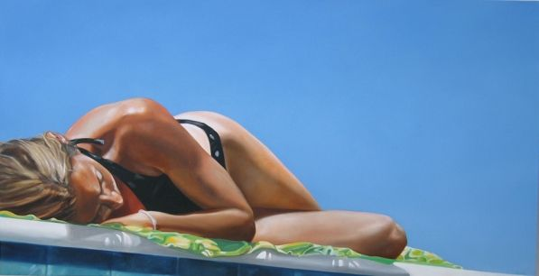 Eric Zener, a fantastic artist who captures subjects in/by water and as a human fish I loveeee his work.