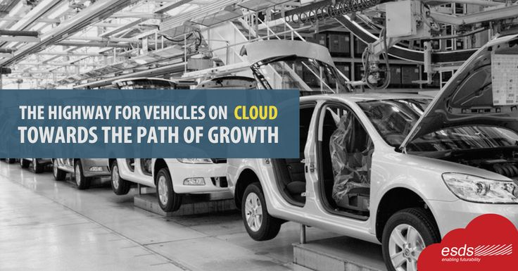 The Highway For #Vehicles On #Cloud Towards The Path of Growth !  As the #automobileindustry evolves, new cloud and #IT trends and innovations will continue to steer trans-formative changes, making great strides to drive efficiency and improve performance.