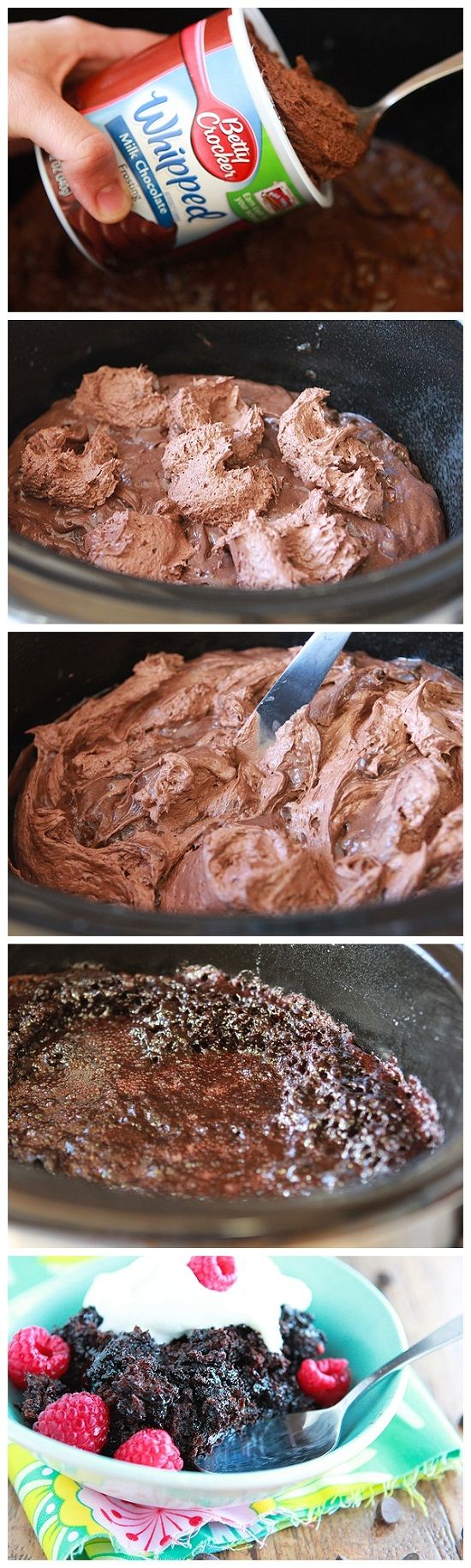 Lavalicious Slow Cooker Triple Chocolate Cake