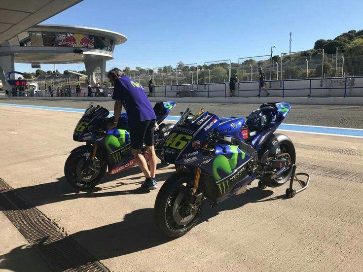 YZR-M1 Test, Jerez