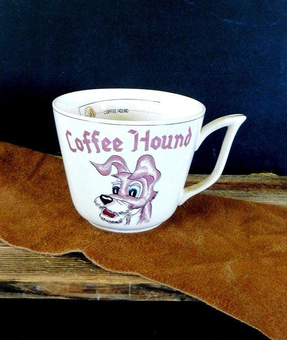 Remarkable, vintage coffee hound mug confirm