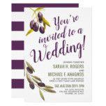 Mediterranean Olives Sangria Wedding Invite #weddinginspiration #wedding #weddinginvitions #weddingideas #bride