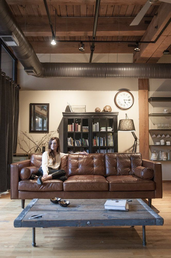 1000 ideas about brown leather furniture on pinterest for 4 elements salon chicago