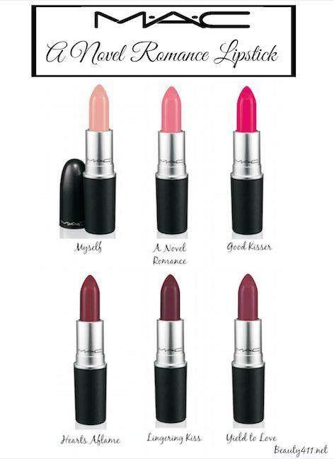 MAC 'A Novel Romance' Lipstick Collection