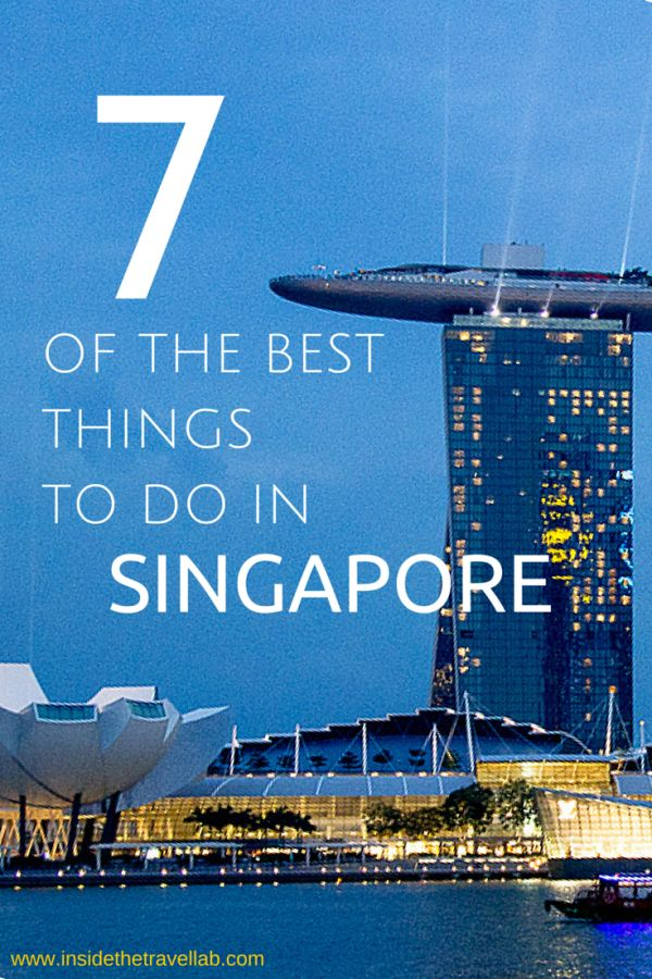 Nice photos and an interesting selection of things to do in Singapore with some tips.