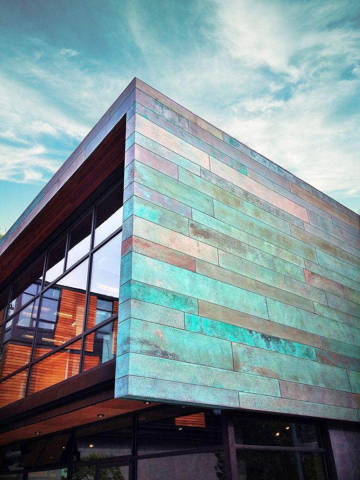 Image Result For Copper Facade Facade Design Steel
