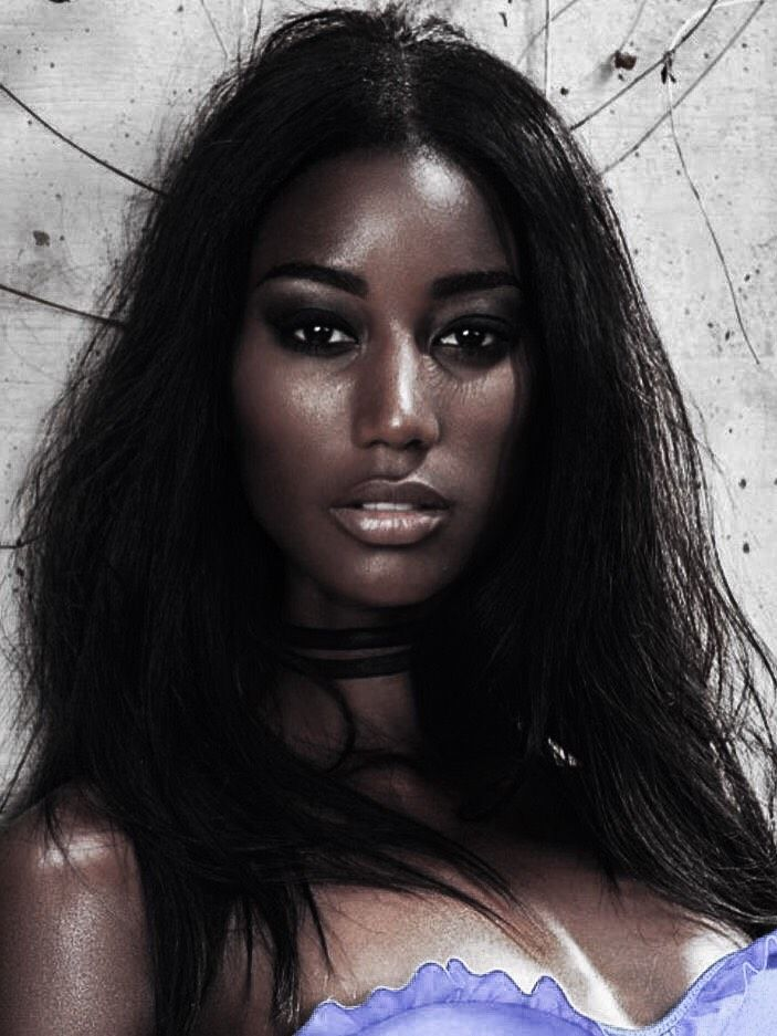 Pin By Marcia On Gorgeous Black Girls  Beautiful Dark