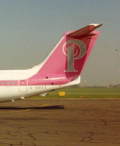 BAe.146-200, Princess Air. (PRN:WHISPERJET) Southend Airport EGMC around 1990