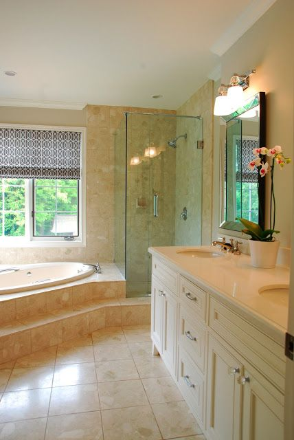 296 best images about bedroom on pinterest traditional for Updated master bathrooms