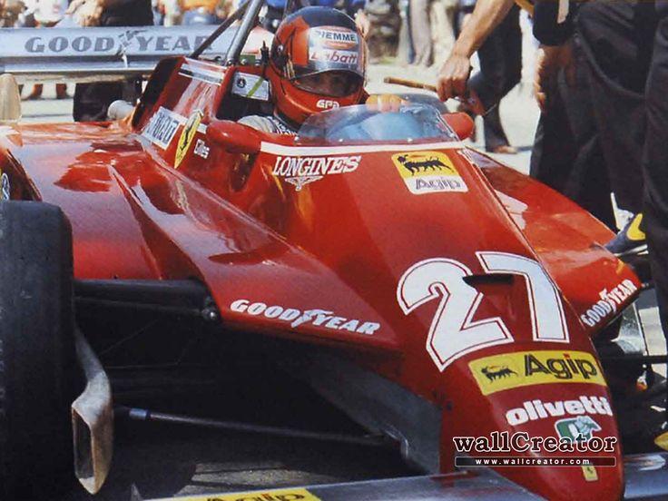 Gilles Villeneuve Ferrari F1