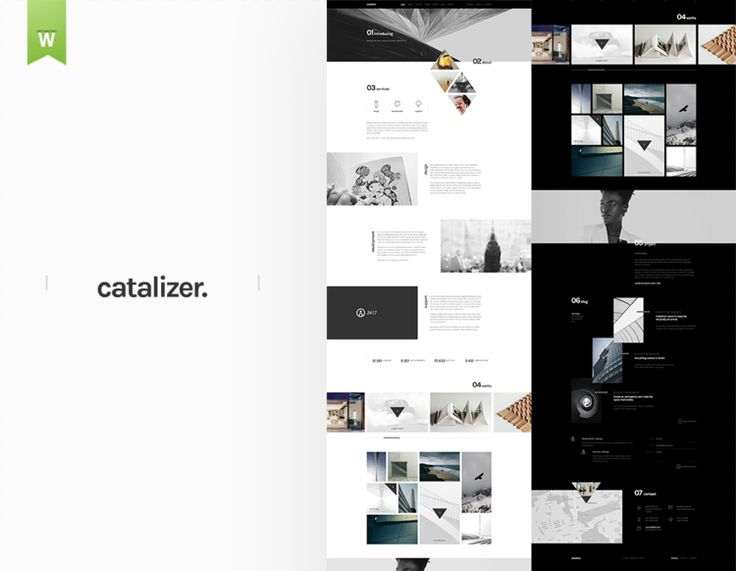 Catalizer | Web PSD Template https://www.goashape.com/market/catalyzer-web-psd-template?utm_content=bufferde3f7&utm_medium=social&utm_source=pinterest.com&utm_campaign=buffer -- #Webdesign #psd #Website