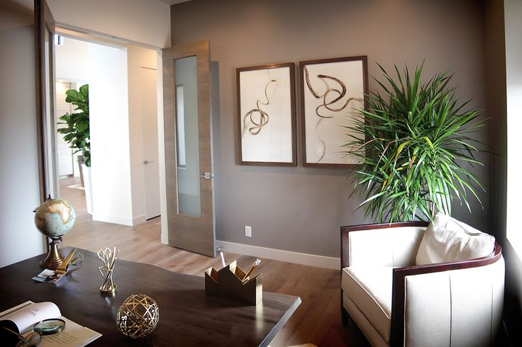 Renovare Model Home :: Renovare Whether an office or a den, this spacious room offers an environment that makes work a pleasure.