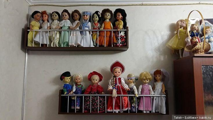 Как же кукол поселить??? Варианты хранения наших красавиц / Хранение кукол, материалов для творчества, рабочее место / Бэйбики. Куклы фото. Одежда для кукол