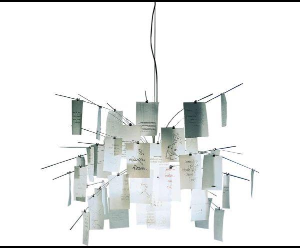Oltre 25 fantastiche idee su lampadario di carta su for Ingo maurer lampadario