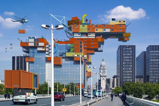 ALAIN BUBLEX PLUG-IN CITY » (2000)