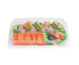 Sushi Tray Biodegradable - BioPak - special until 29 January 2017