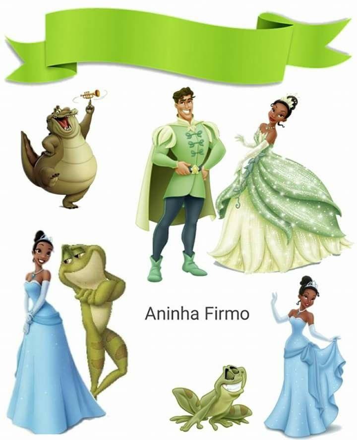 Pin De Lala Em Disney Stickers Princesa Tiana Topper