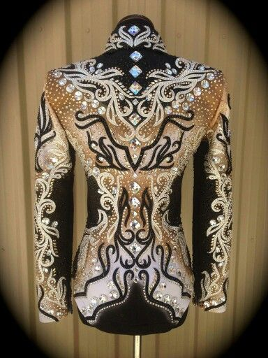 Beautiful western pleasure shirt.