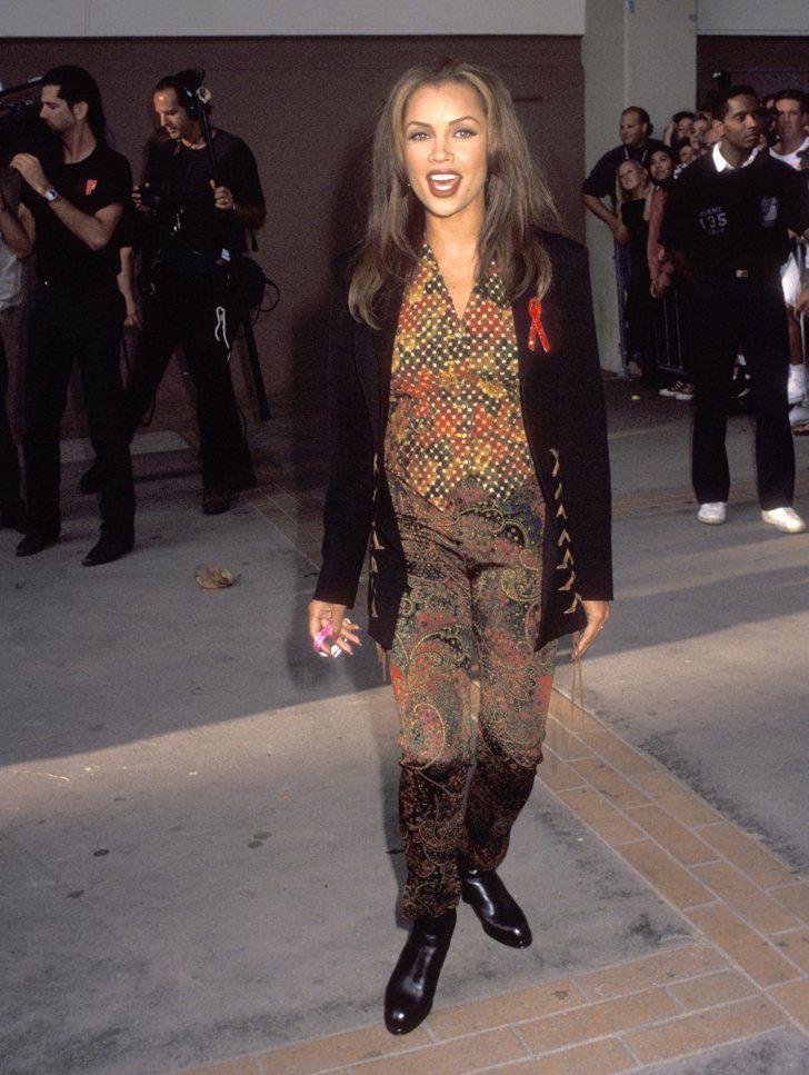 Pin for Later: Retour sur les Looks les Plus Fous des MTV VMAs Vanessa Williams, 1992