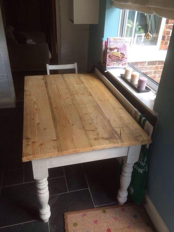 shabby chic farmhouse table for sale - Farmhouse Table For Sale
