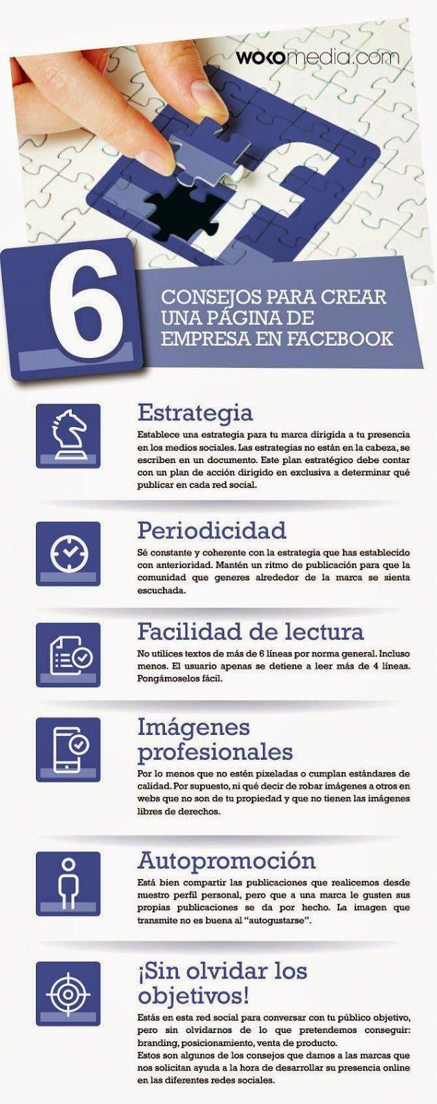 Información del Mueble de Hogar y afines...: Consejos para crear una Página de Empresa en Faceb...