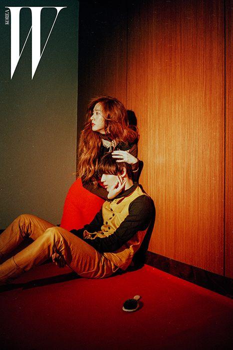 Krystal & Taemin // W Korea
