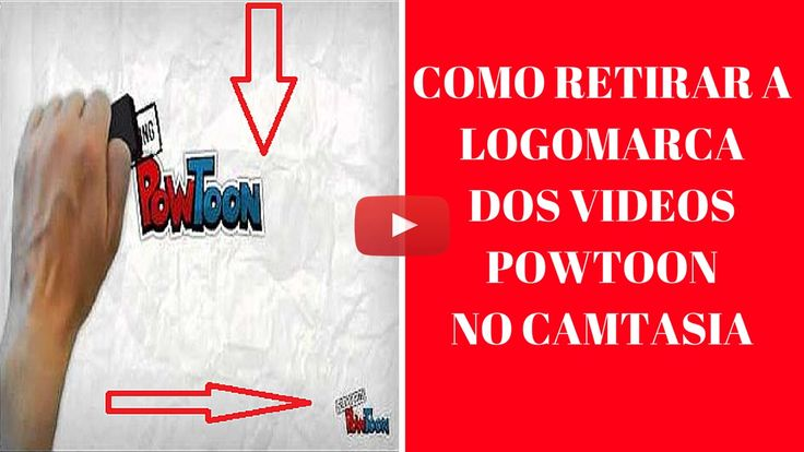 Como Retirar a Logo do Powtoon dos Videos no Camtasia - Anunciar Gratis