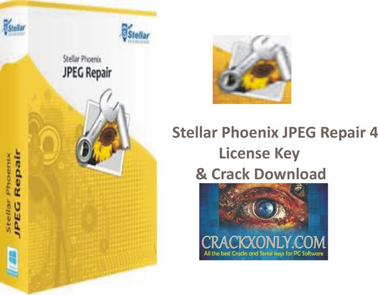 Stellar Phoenix JPEG Repair 4 License Key & Crack Download,Stellar Phoenix JPEG Repair 4,Stellar Phoenix JPEG Repair 4 License Key & Crack ..................
