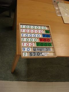 THE LEARNING ARK - Elementary Montessori : The BANK GAME....