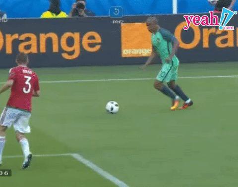 Amazing goal from Ronaldo Euro 2016