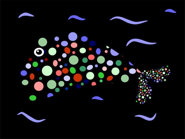 Duhová ryba / Rainbow fish