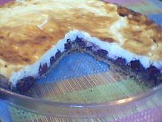 Tarta cu visine (si budinca de vanilie) (Retete Montignac)