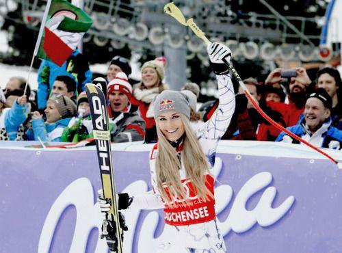 Lindsey Vonn wins the Super G in Altenmarkt-Zauchensee - 10/01/16