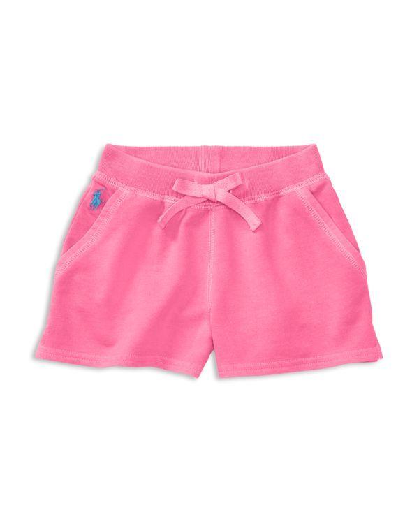 Ralph Lauren Childrenswear Girls' Terry Shorts - Sizes 2-6X