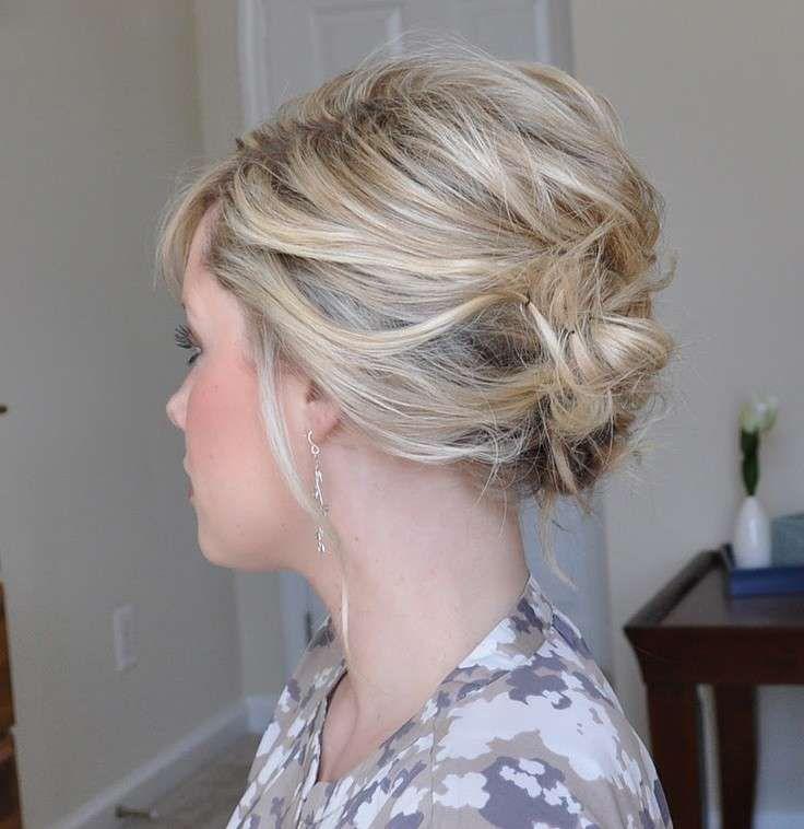 Acconciature capelli corti primavera estate 2015 - Raccolto capelli corti