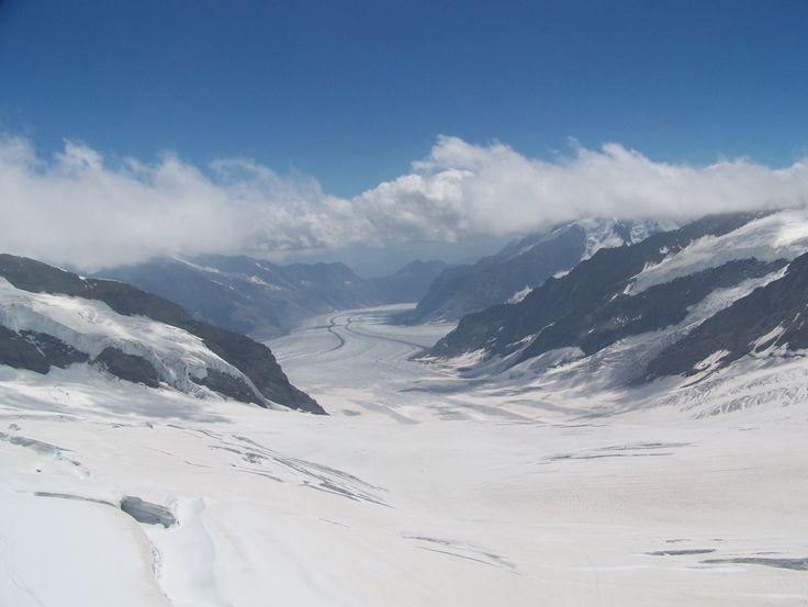 du haut du Mont Europe - Suisse