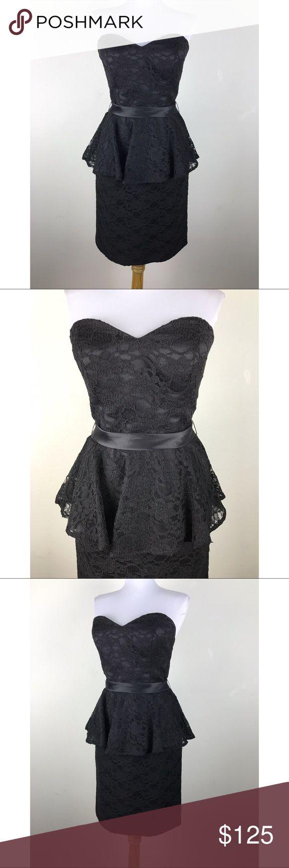 I just added this listing on Poshmark: Mori Lee Dress Size S Black Lace Peplum Prom. #shopmycloset #poshmark #fashion #shopping #style #forsale #Mori Lee #Dresses & Skirts
