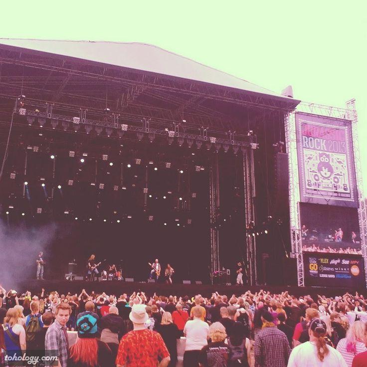 Jurassic Rock 2013 in Visulahti, #Mikkeli
