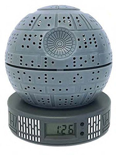 Star Wars Classic Death Star Digital Alarm Clock with Light Up Function … #Star #Wars #Classic #Death #Digital #Alarm #Clock #with #Light #Function