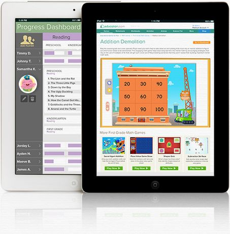 15,000+ printable worksheets, 300+ online games, and everything else parents and teachers need to help kids succeed.