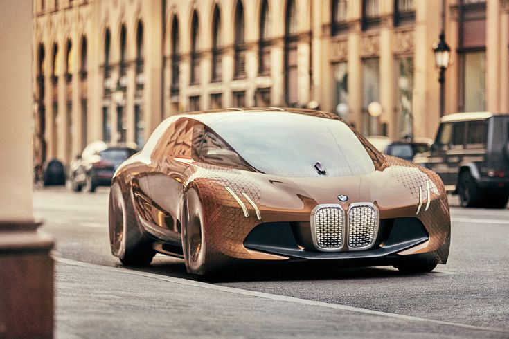 The design of the BMW Vision Vehicle is characterised by a blend of coupé-type sportiness and the dynamic elegance of a sedan. At 4.90 meters long and 1.37 meters high, it has compact exterior dimensions. Inside, however, it has the dimensions of a luxury BMW sedan. The large wheels are positioned at the outer edges [...]