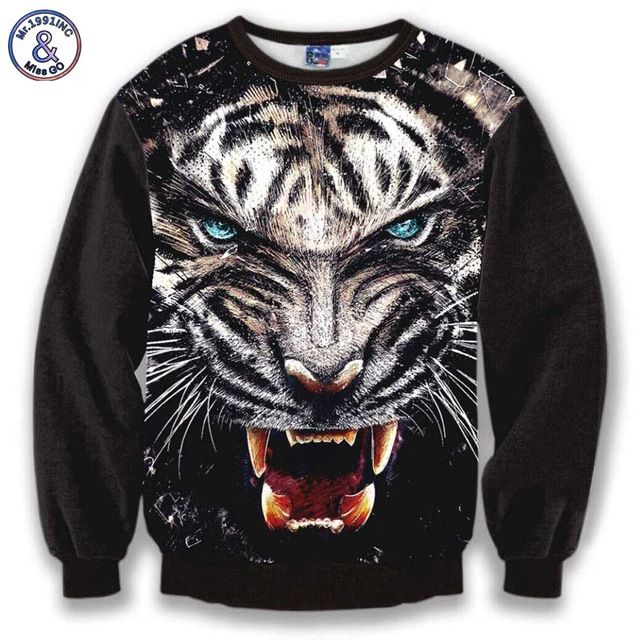 Check it on our site Mr.1991INC Animals Fashion Autumn 3d sweatshirt men tops thin slim printed imposing ferocious blue eyes tiger hoodies just only $14.28 with free shipping worldwide  #hoodiessweatshirtsformen Plese click on picture to see our special price for you