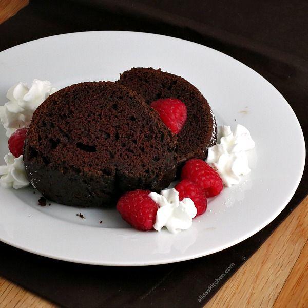 Red Wine Chocolate Cake #SundaySupper - Alida's Kitchen