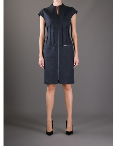 Buy Fendi Women's Gray Zipped Dress, starting at €747. Similar products also available. SALE now on!