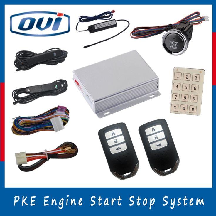 PKE keyless entry start PKE push button engine start stop system