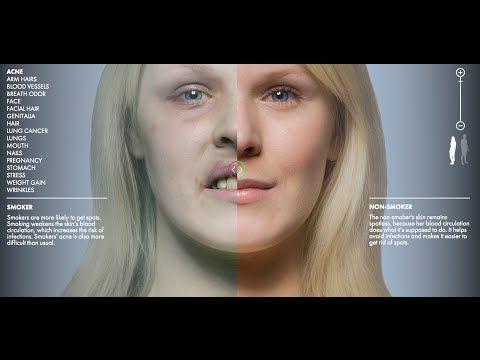 Observa como el tabaco cambia a las personas fumar vs no fumar-como dejar de fumar cigarro - YouTube