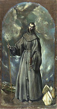 San Bernardino es una obra de El Greco, realizada en 1603. Pertenece al Museo del Prado, pero está depositado en el Museo de El Greco de Toledo.