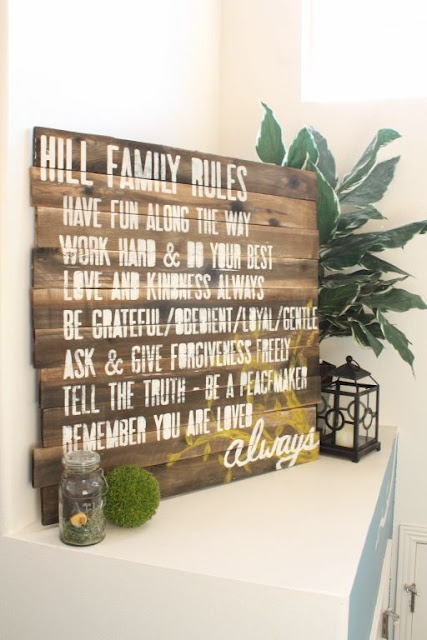 Great project. Love the wood sign idea and for 20 dollars it's great!